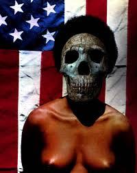 American Flag Skull American The 500lb Gorilla