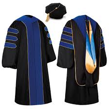 doctoral graduation gown caps and gowns jostens professional quality regalia