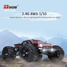 monster truck rc racing jlb racing 11101 1 10 2 4g 4wd electric off road monster truck rtr