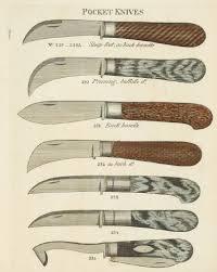 knife patterns sheffield spring knife patterns of 1816 bladeforums com