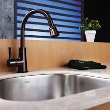 oil rubbed bronze kitchen faucet faucet with stainless sink