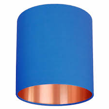 blue lamp shades design for navy blue lamp shade ideas 12609
