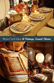Diy Wedding Menu Cards How To Make Menu Cards For A Vintage Wedding Table Unique
