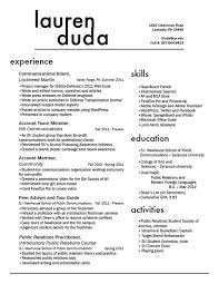 Two Column Resume Marvelous Headings For Resumes 75 On Free Resume Templates With