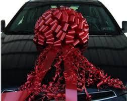 car gift bow car bows etsy