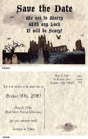 Gothic Halloween Wedding Party Invitation by 101 Best Halloween Wedding Invitations Stationary U0026 Bottle