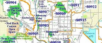 rock zip code map colorado springs zip code map printable zip code map