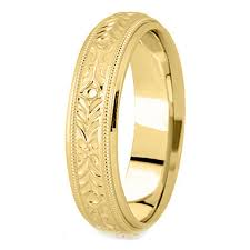 gold mens wedding bands yellow gold wedding bands from mdc diamonds