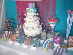 dessert table melissa u0027s baby shower