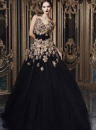 black wedding gowns black and gold wedding dresses wedding dress styles