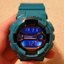 light blue g shock watch g shock other mens light blue g shock watch poshmark