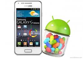 android jellybean samsung galaxy s advance gets android 4 1 2 jelly bean update