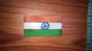 Th Flag Diy Craft Make Indian Flag Batch By Hand Youtube