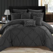 black bedding sets you ll wayfair