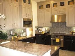 Kitchen Cabinets Black Two Tone Kitchen Cabinet Paint Colors Ideas Kitchen U0026 Bath Ideas