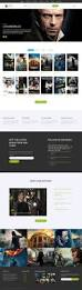 online movie theater html template