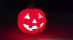 halloween pumpkin light halloween pumpkin light effect youtube