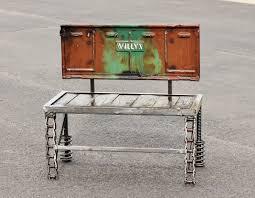 Rustic Outdoor Furniture by Garden Art Outdoor Furniture