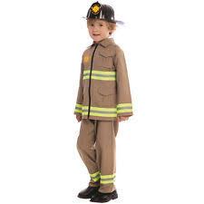 fireman costume kids firefighter costume ebay
