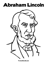 abraham lincoln coloring pages 20238