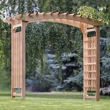 wedding arches canada all things cedar pa106 garden wedding arbor lowe s canada