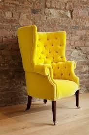 Velvet Wingback Chair Design Ideas Fabolous Yellow Wingback Chair Design Ideas Rilane We Aspire