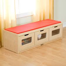 Cushion Top Storage Bench by Benches For Bedrooms Ikea Trogen Storage Bench Yellow Cm Bench