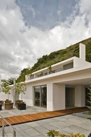 buried brilliance stepped modern house on a slope u2013 modern house