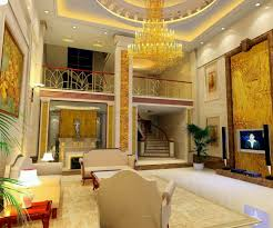 luxury pop ceiling for living room with high ceiling and tv