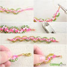 beaded braided bracelet images How to make braided bead bracelet easy friendship bracelet jpg