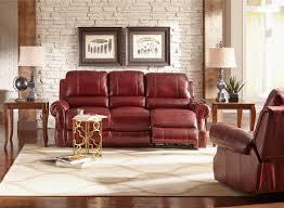 Reclining Couches Red Barrel Studio Crete Leather Reclining Sofa U0026 Reviews Wayfair