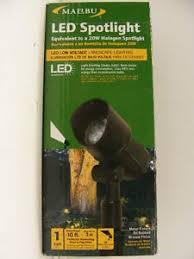 Malibu Low Voltage Landscape Lights Malibu 6 Of Led Spotlight 9w 20w Halogen Equiv Low Voltage