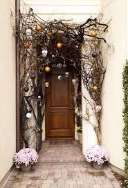 Door Decorations For Halloween 40 Cool Halloween Front Door Decor Ideas Digsdigs