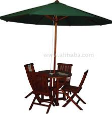 umbrella table and chairs outdoor teak umbrella folding chair table buy outdoor umbrella