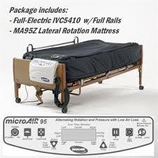 rotating hospital bed invacare 5410iv full electric hospital bed ma95z mattress