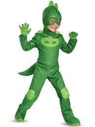 halloween supplies wholesale toddler deluxe pj masks gekko costume wholesale halloween costumes