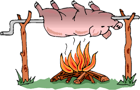 reading pig clipart cliparthut free clipart