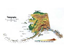 Wasilla Alaska Map by Topographical Map Of Alaska Topographic Map