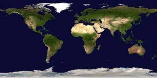 True World Map by Apod 2002 March 5 Earth In True Color