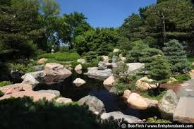 Rock Garden Mn Partridge Ordway Japanese Garden Como Park 0469