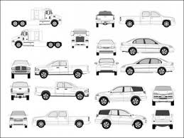Pro Vehicle Templates pro vehicle outlines vector free vector in ai eps