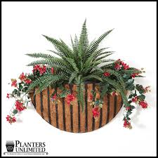 english garden wall planter