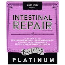 barlean u0027s intestinal repair mixed berry flavor 6 35 oz 180 g