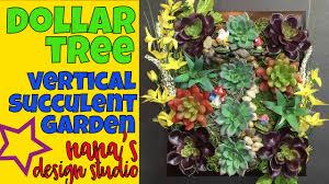 dollar tree vertical succulent garden do it yourself framed