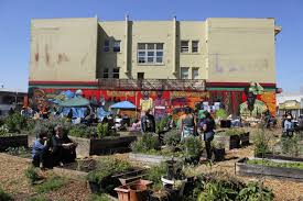 Community Gardens In Urban Areas Hundreds Defend U0027afrika Town U0027 Community Garden Ken A Epstein