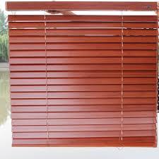 wooden venetian blinds shutter shading kitchen bedroom office