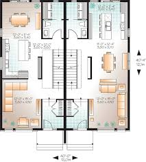 multifamily house plans contemporary multi family home 22328dr architectural designs