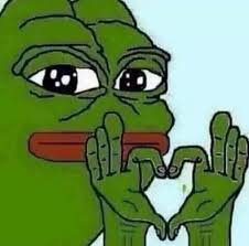 Meme Pepe - pepe love blank template imgflip