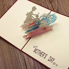customized gift cards mather s day greeting card pop up gift cards customized design