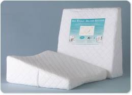 therapeutic pillow contoured bed wedge assistive technology